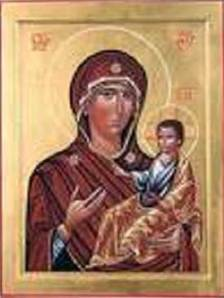 L'icona della Madonna Odighitria