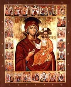 Icona Akathistos