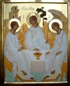 La riscrittura della Santa Trinità di Rublev